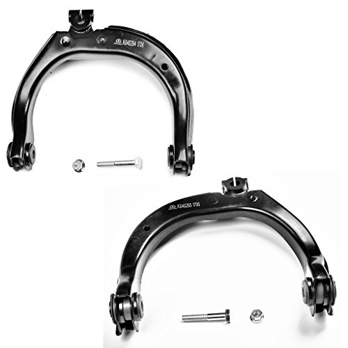 MECHAPRO K640293+K640294 Pair of Front Upper Control Arm Assembly for Bravada Envoy Rainer SSR Trailblazer (Upper Cover Assembly)