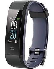 icefox Fitness Armband, Fitness Trackers Smart Uhr, Wasserdicht IP67 Bluetooth Aktivitätstracker mit Pulsmesser,Herzfrequenzmonitor, und Schrittzähler