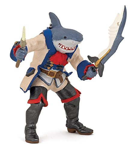 (Papo Pirates and Corsairs Figure, Shark Mutant Pirate)