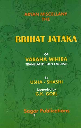 Brihat Jataka of Varahamihira ebook