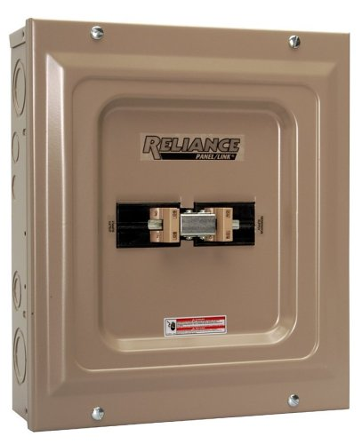 Reliance Controls Corporation TCA1006D Panel Link 100-Amp Utility 60-Amp Generator Transfer Switch for Generators Up to 15,000 Watts 2- Pack
