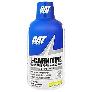 GAT SPORT Essentials Liquid L-Carnitine Drink – 473 ml (Green Apple)