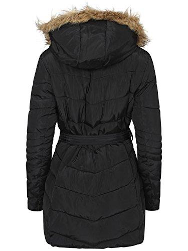 Unique Taille Shelikes Femme Blouson Noir 41TP0q