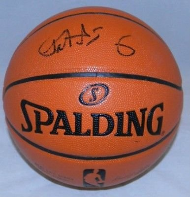 Patrick Ewing Autographed Signed New York Knicks NBA Spalding Basketball (authenticated by PSA/DNA)