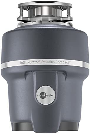 InSinkErator Evolution Compact 3 4 HP Compact Garbage Disposer