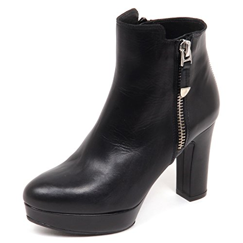 E6440 Donna Boot UNISA Scarpe Tronchetto Shoe Woman Nero Radio Nero FpRAxF