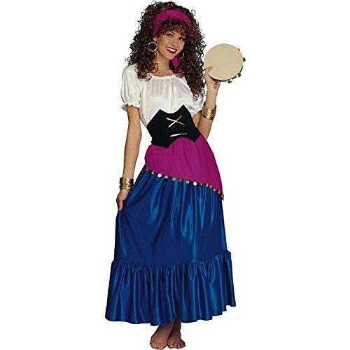 Gypsy Adult Costume (Halloween Gypsy Costume)
