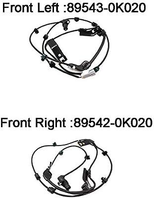 89543-0K020 Front Left ABS Wheel Speed Sensor For Toyota Hilux Vigo pick-up