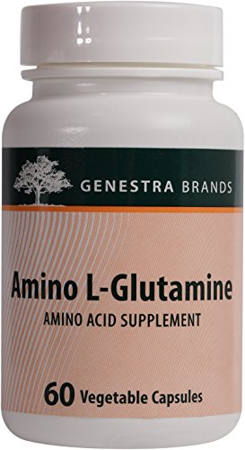 Genestra Brands - Amino L-Glutamine - Amino Acid Supplement for GI and Immune Health* - 60 Capsules