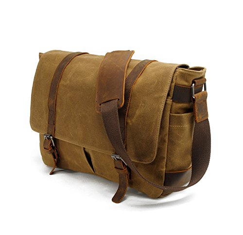 Frazill Bag Boys Mu930n Body Khaki Cross Camera Men's Laptop Schoolbags Multifunction Messenger Shoulder rqn6prRwB