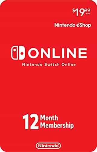 Nintendo Switch Online 12-Month Individual Membership [Digital Code]