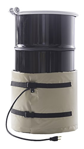 WarmGuard WG15 Insulated Drum Band Heater - Barrel Heater, Fixed Internal Thermostat Max Temp 145 F by WarmGuard (Image #1)