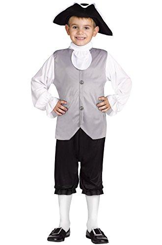 Fun World Colonial Boy Child Costume - Small