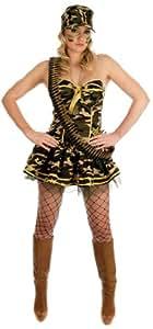 Commando Girl - Disfraz chica comando