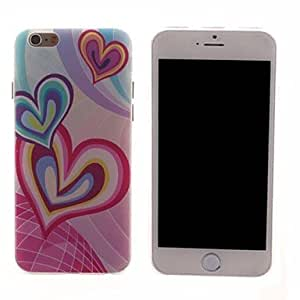 QJM Love Design PC Hard Case for iPhone 6 Plus