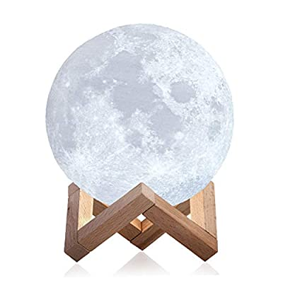 Mind-glowing 3D Moon Lamp