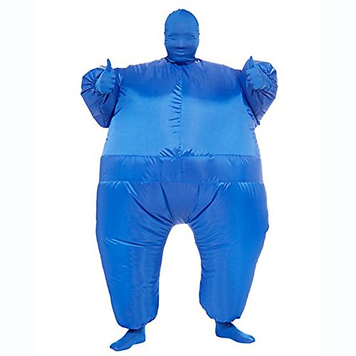Ehomelife's Costume Adult Inflatable Body Suit Costume (Blue) (Inflatable Body Costume)