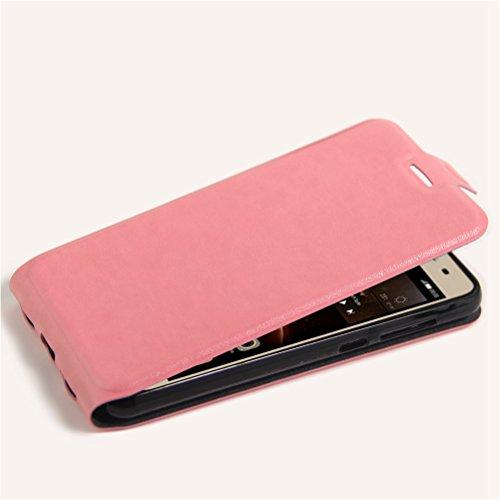 Funda Huawei Y5 II,Manyip Caja del teléfono del cuero,Protector de Pantalla de Slim Case Estilo Billetera con Ranuras para Tarjetas, Soporte Plegable, Cierre Magnético F
