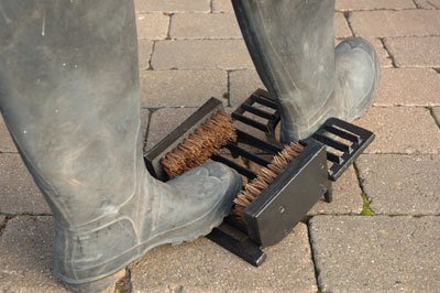 Three in One Wellington Boot Jack and Scraper
