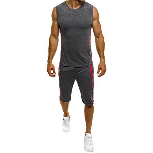 PASATO Men's Casual Slim Sleeveless Tank TOP T Shirt Top Blo