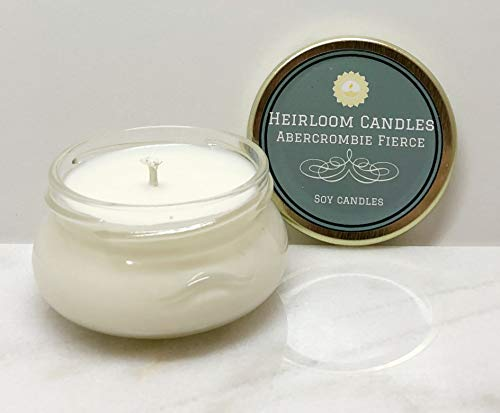 Used, Abercrombie Fierce Scented Soy Candle - Handmade, 3.3oz for sale  Delivered anywhere in USA