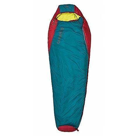 Columbus Misti 300 R Momia Saco de Dormir, Unisex Adulto, Turquesa/Rojo, Talla Única: Amazon.es: Deportes y aire libre