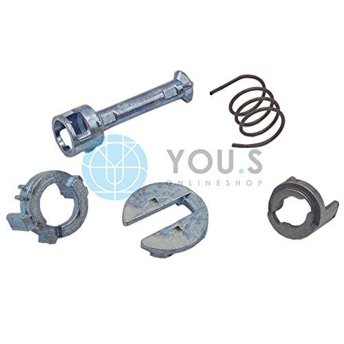 2 Set YOU.S Original Reparatursatz T/ürschloss Schlie/ßzylinder Vorne Links