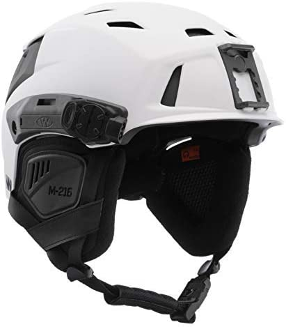 M-216 Backcountry Ski Search Rescue Helmet with Princeton Tec Switch Rail Light