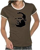 Touchlines Girlie Ringer T-Shirt Bruce Willis