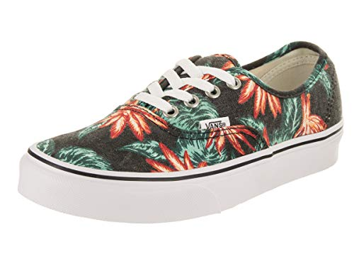 Shoe Wht Skateboard - Vans Unisex Authentic (Vintage Aloha) Vintage Aloha/Black/True Wht Skate Shoe 3.5 Men US / 5 Women US