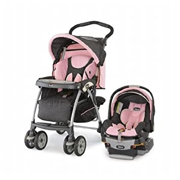 2bec915863e Amazon.com   Chicco Key Fit 30 Travel System - Bella   Infant Car Seat  Stroller Travel Systems   Baby