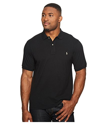 Silver Pony Shirt - Polo Ralph Lauren Mens Classic Fit Mesh Polo Shirt (Small, Polo Black (Silver Pony))