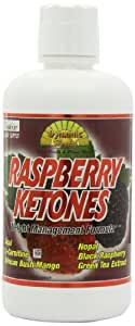 Dynamic Health Juice Blend Liquid Dietary Supplement, Raspberry Ketones, 32 Ounce