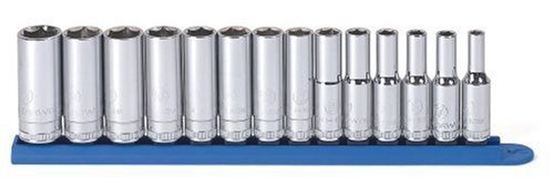 GearWrench 80554 14 Piece 3/8-Inch Drive 6 Point Deep Metric Socket Set [並行輸入品] B078XLG8V7