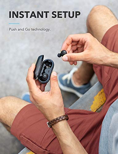 Soundcore Truly-Wireless Earbuds, Liberty Neo by Anker, Wireless Headphones with Graphene-Enhanced Drivers, 12-Hour Playtime, IPX5 Water-Resistant, Stereo Calls, AAC, Microphone, and Bluetooth 5.0 by Soundcore (Image #3)