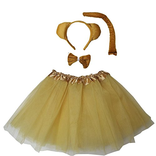 Kirei Sui Kids Costume Tutu Bear ()