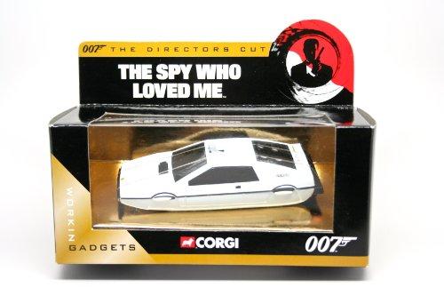 LOTUS ESPRIT UNDERWATER * THE SPY WHO LOVED ME * 2004 Corgi Classics The Directors Cut Definitive James Bond Collection 1:36 Scale Die-Cast Vehicle ()