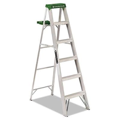 Louisville Ladder 225-Pound Duty Rating Aluminum Stepladder