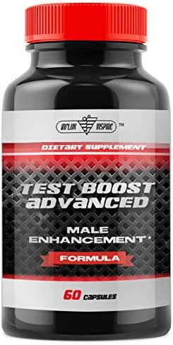 Testosterone Booster for Men - Increase Stamina & Build Muscle Mass - Formulated to Maximize Weight Loss and Burn Fat -Advanced Male Supplement - 60 Capsules