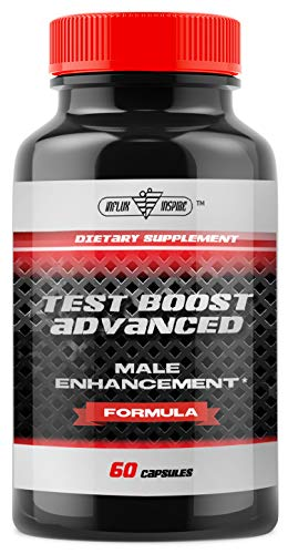 Testosterone Booster for Men - Increase Stamina & Build Muscle Mass - Formulated to Maximize Weight Loss and Burn Fat -Advanced Male Supplement - 60 Capsules (Best Method To Increase Testosterone)