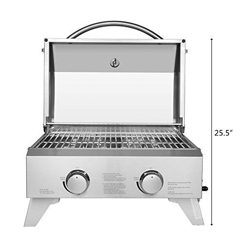 portable propane gas grill