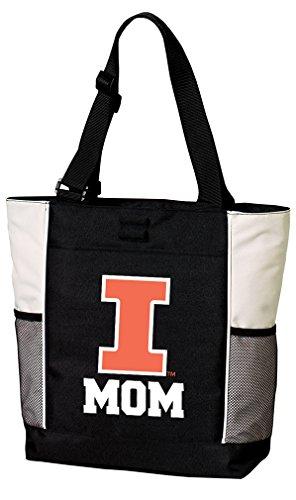 - Broad Bay Illini Mom Tote Bags University of Illinois Mom Totes Beach Pool Or Travel