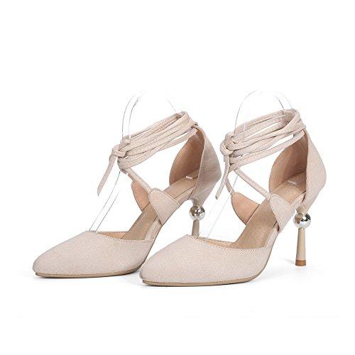 36 Femme Abricot SLC04310 5 Beige Cheville Bride AdeeSu vYqRxw4O8w