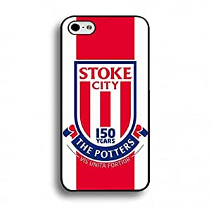 Stoke City Fc Logo Phone Funda Customized Protective Hard Back Cover For iPhone 6 Plus/iPhone 6S&Plus(5.5inch)