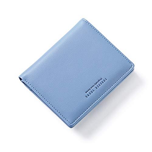 AnnabelZ Small Bifold Leather Pocket Wallet Women