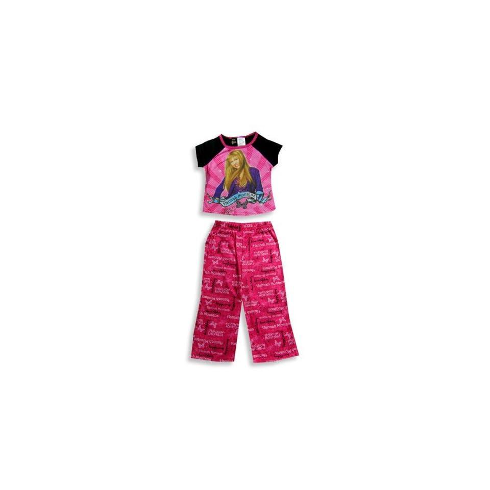 Red Hannah Montana Girls Flip Flop Slippers