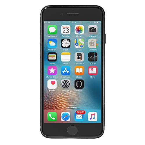 Apple iPhone 7 a1660 128GB Black Smartphone Verizon Unlocked (Renewed)