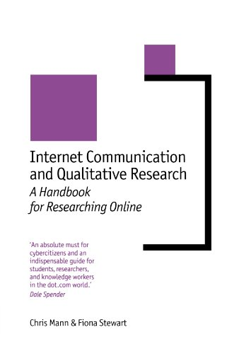 Internet Communication and Qualitative Research: A Handbook for Researching Online (New Technologies for Social Research series) by Brand: SAGE Publications Ltd