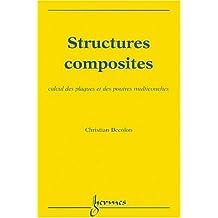 Structures Composites: Calcul Plaques et Poutres Multicouches
