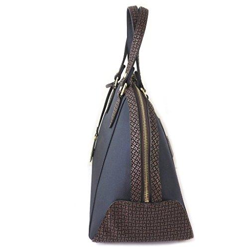 Bolsa de diseñador 'Ted Lapidus'azul marino - 38x27x17 cm.